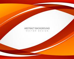 Beautiful creative bright wavy background vector