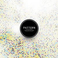 Abstraktes buntes Design des punktierten Musters