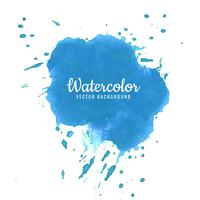Abstract blue watercolor splash background