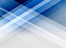 Fondo de líneas abstractas de estilo de negocios azul