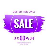 Sale banner poster template background