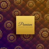 beau luxe mandala décoration de fond
