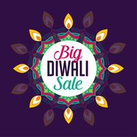 conception d'affiche de vente grand diwali