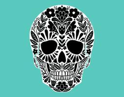 Crânio de Açúcar Mexicano
