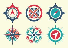 Compass Vector Set