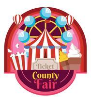 Country Fair Vector Design