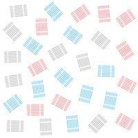 Fondo de decoración de patrón de líneas abstractas