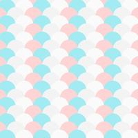 pastel color repeated circle pattern