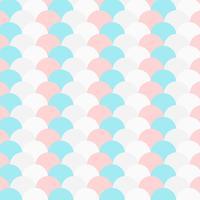 motif de cercle répétitif couleur pastel