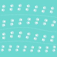 cute kitten pow pattern design