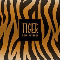modello di stampa trama della pelle di tigre