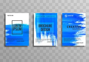 Abstrakt design brochuse mall set design
