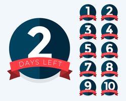 antal dagar kvar badgeräknare