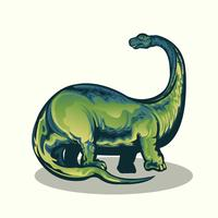 Realistischer Brontasaurus
