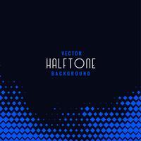 dark background with blue geometric halftone
