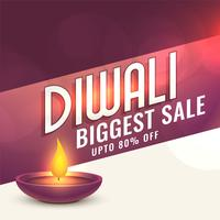 happy diwali sale banner design