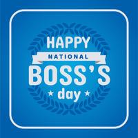 Happy National Boss Day Poster