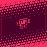 abstract big halftone pattern design