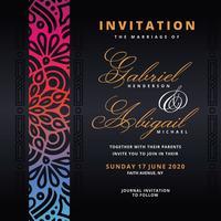 Islamic Style Invitation