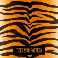 design de textura de padrão de pele de tigre