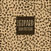 marcas de impressão de textura de pele de leopardo