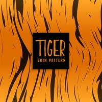 diseño de textura de piel de patrón de tigre