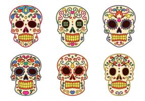 Day Of The Dead Vector Collection