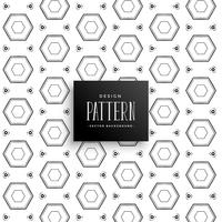 abstract geometric hexagon pattern decoration