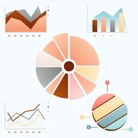 UI Grandient Chart Elements