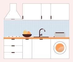 Minimale moderne keuken