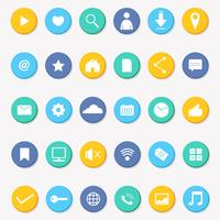 Social Media Icon Collection Vector