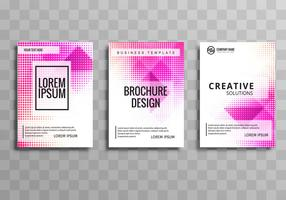Conception d'illustration de brochure entreprise moderne