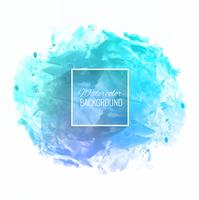 Beautiful soft blue watercolor background