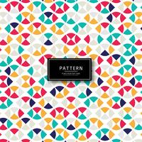 Elegant colorful seamless pattern background vector