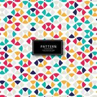 Elegante kleurrijke naadloze patroonvector als achtergrond