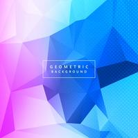Absytract colorful polygon background vector