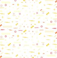 Geometric colorful pattern memphis style pattern design