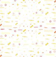 Geometric colorful pattern memphis style pattern design