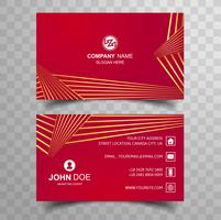 Creative and clean double sided business card template