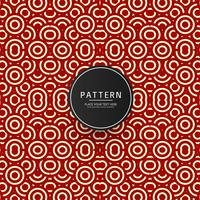 Seamless geometric pattern design vector