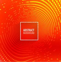 Abstract circular glowing dots background vector