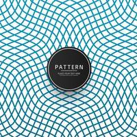 Modern geometrisk blå mönster elegant vektor
