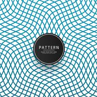 Vetor elegante moderno padrão geométrico azul