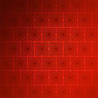 Abstracte decoratieve naadloze rode patroon vectorachtergrond