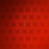 Abstrakter dekorativer nahtloser roter Mustervektorhintergrund