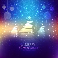 Modern colorful shiny christmas background