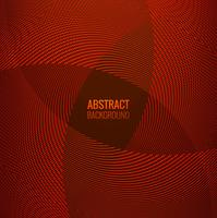 Abstract red line geometric wave background