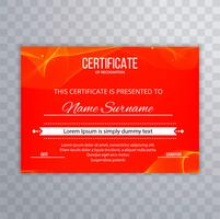 Certificate Premium template awards diploma vector background