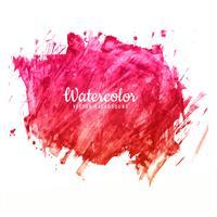 Pincelada abstrata para design e backgro aquarela colorida