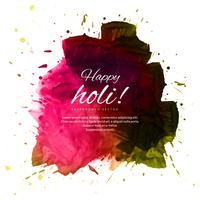 Happy holi colorful beautiful festival background